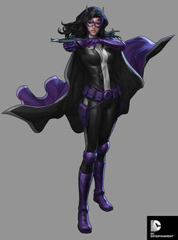 DC Comics Cover Girls - Huntress