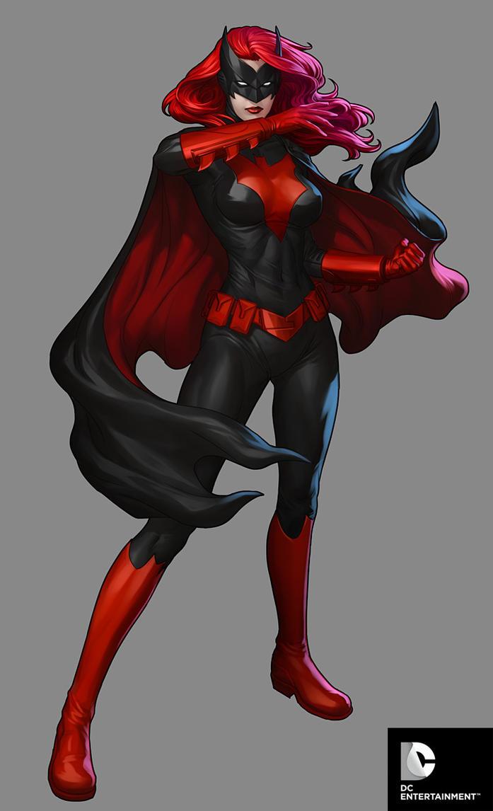 DC Comics Cover Girls - Batwoman by Artgerm