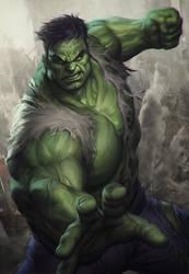 Hulk Statue Art by Artgerm