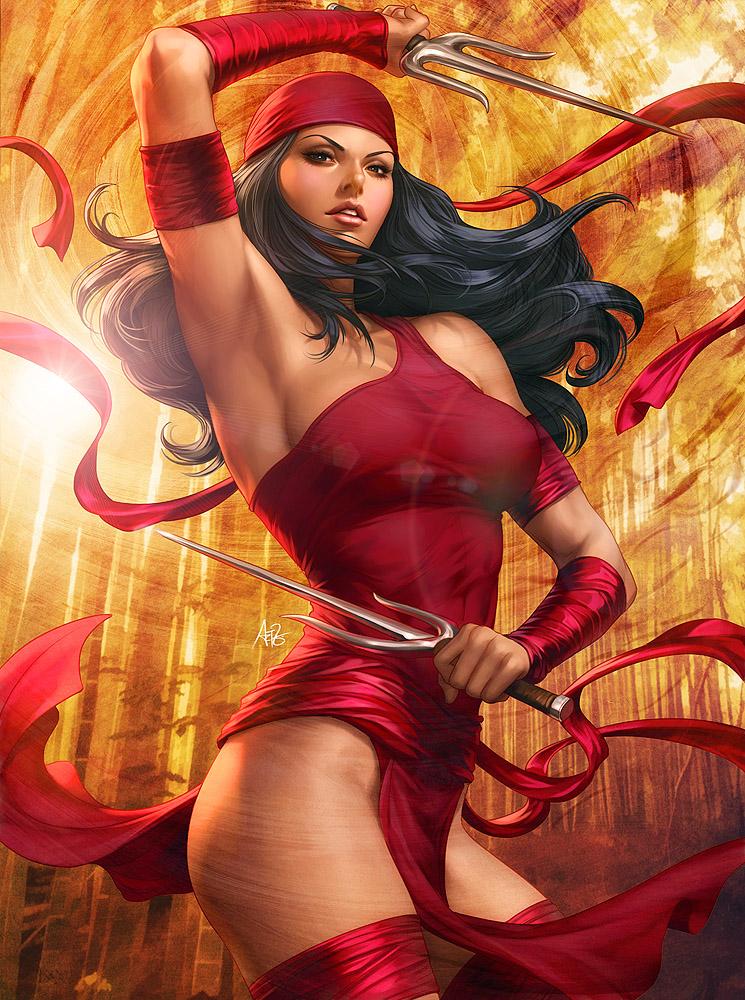ImagineFX Bookazine - Elektra by Artgerm