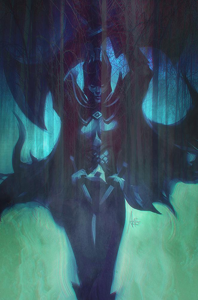 Phantom Assassin by Artgerm