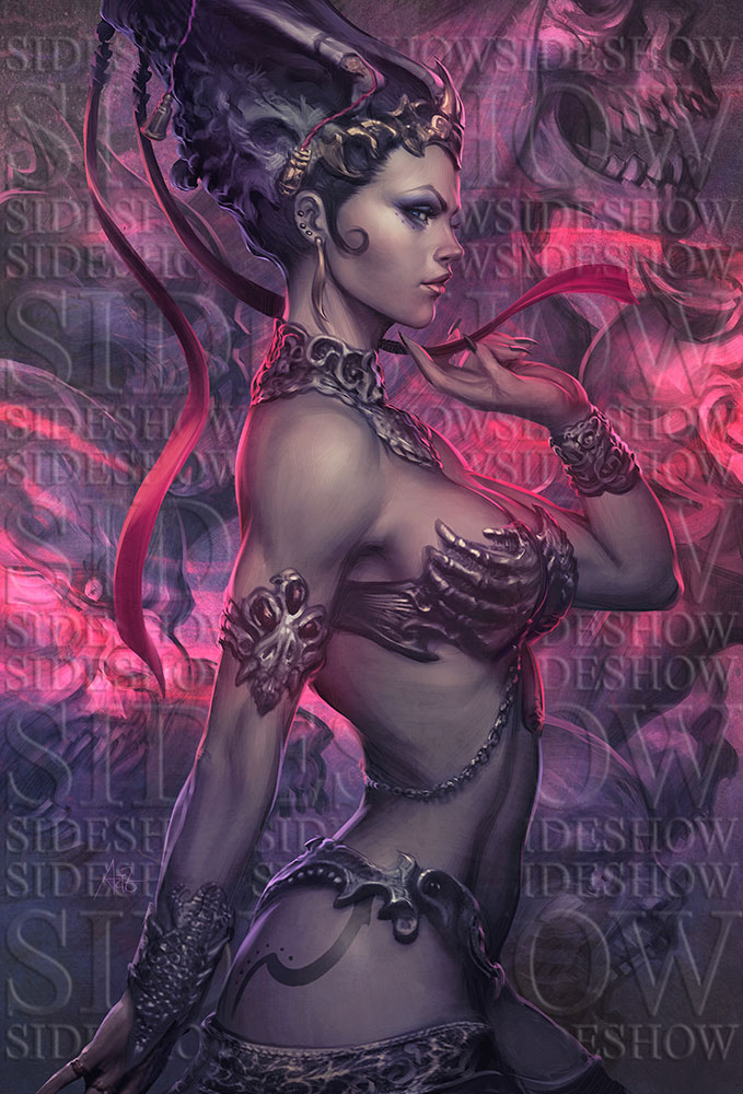 Queen of the Dead Art by Artgerm