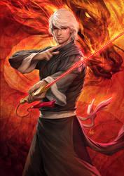 Crimson Legends 2 by Artgerm