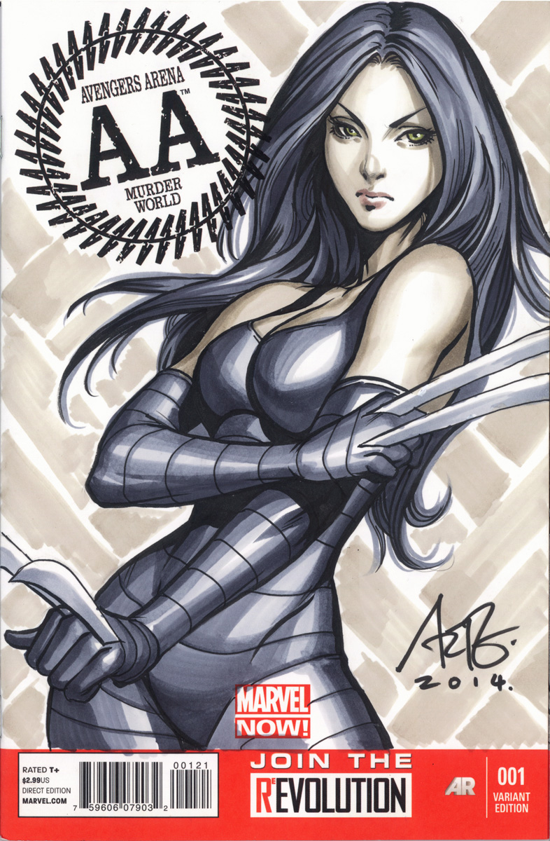 X-23 Blank Commission 2 by Artgerm