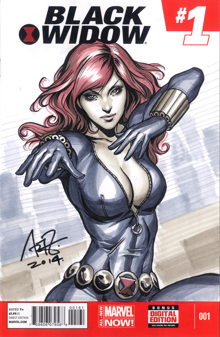 BlackWidow Blank1 LR by Artgerm