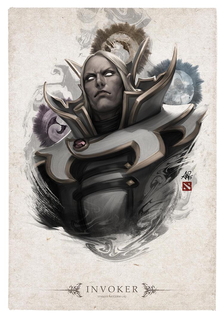 Invoker Portrait by Artgerm