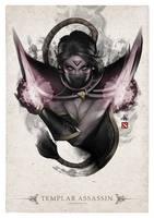 Templar Assassin Portrait by Artgerm