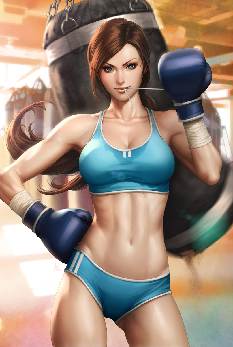 Beautiful Boxer by Artgerm