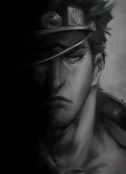 Jotaro Sketch by Artgerm