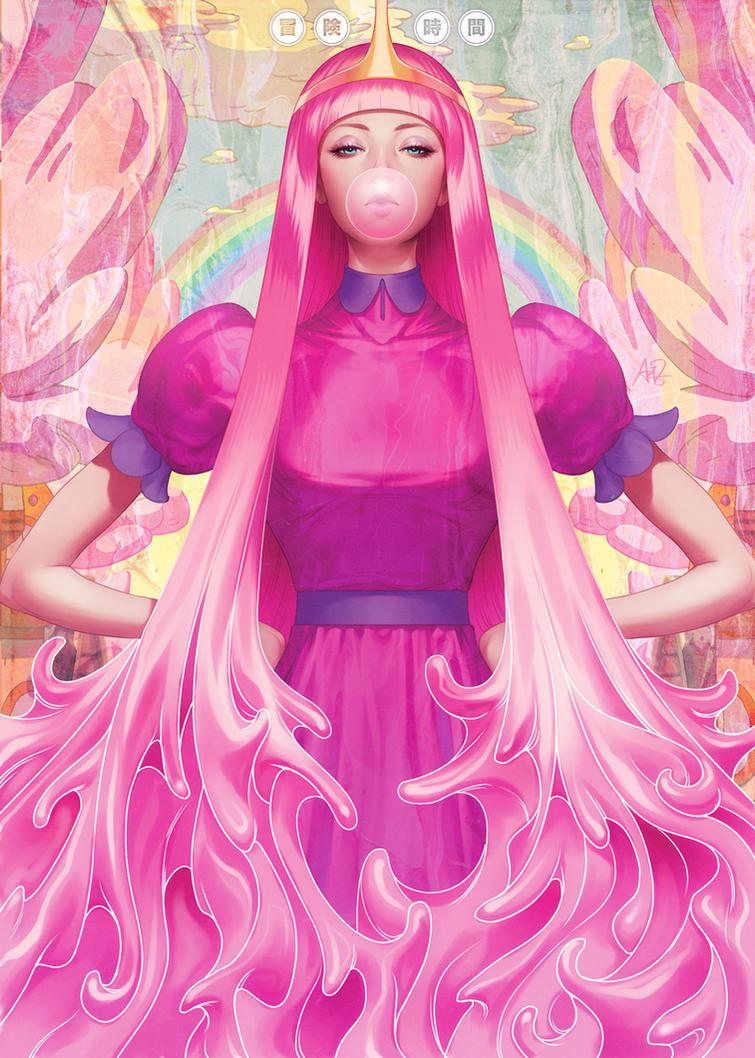 Princess Bubblegum by Artgerm