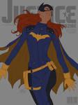 Batgirl Justice Magazine lines