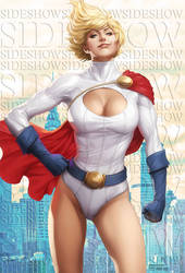 Power Girl Premium Format Figure by Artgerm