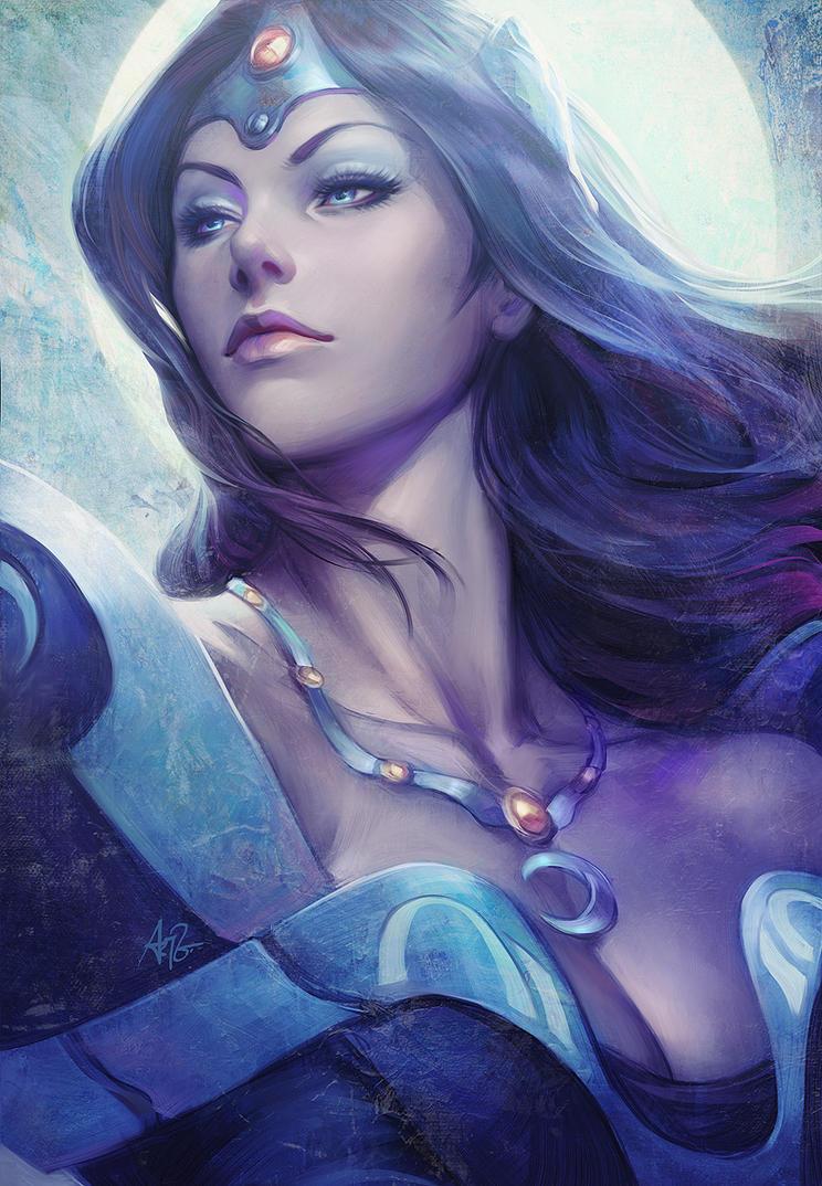 Mirana the Moon Priestess by Artgerm