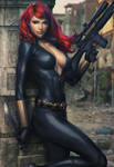 Black Widow Art XM Studio Statue