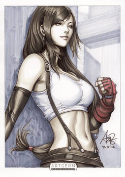 Tifa Lockhart Original Art