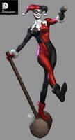 DC Cover Girls - Harley Quinn