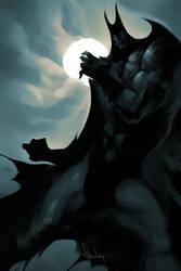 Bat for Mercy by Artgerm