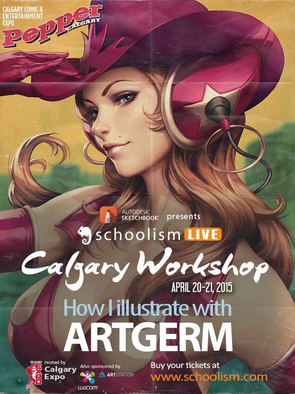 calgaryLive artgerm by Artgerm