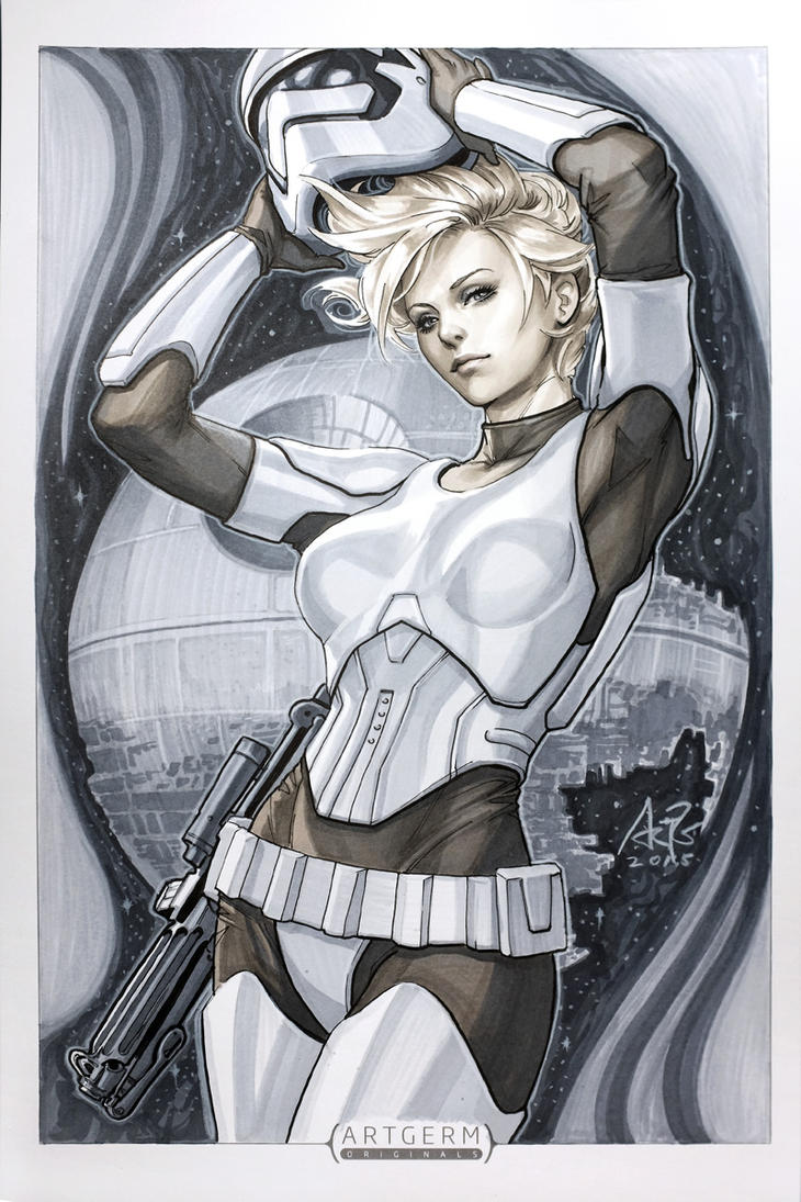 Ms Stormtrooper by Artgerm