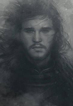 Snowing Jon