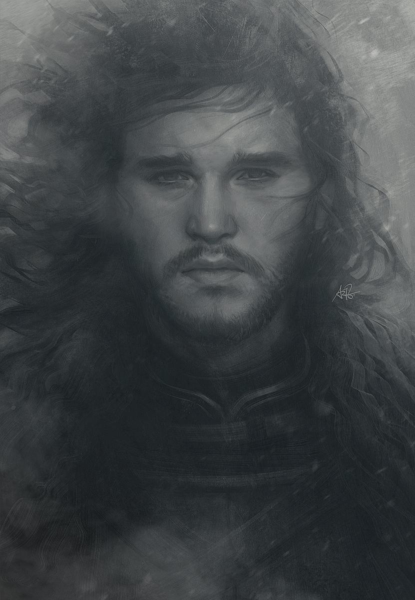 [Fan Arts] Artgerm (Stanley Lau) Snowing_jon_by_artgerm-d8uxjvo