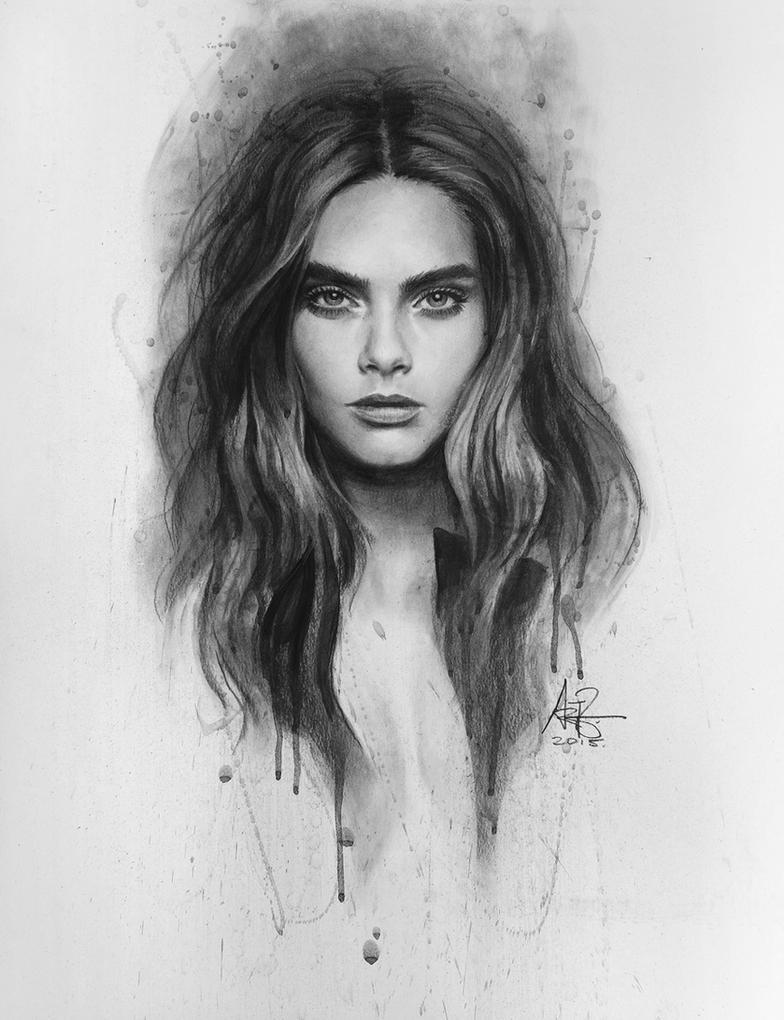Cara Delevingne by Artgerm