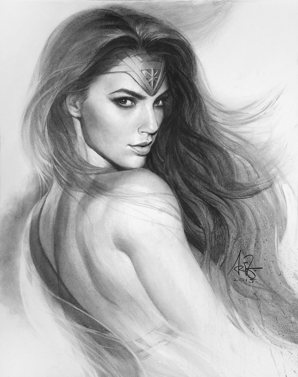 Wonder Gal by Artgerm