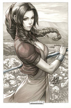 Aerith Original Art