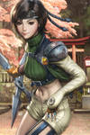 Yuffie Colorised