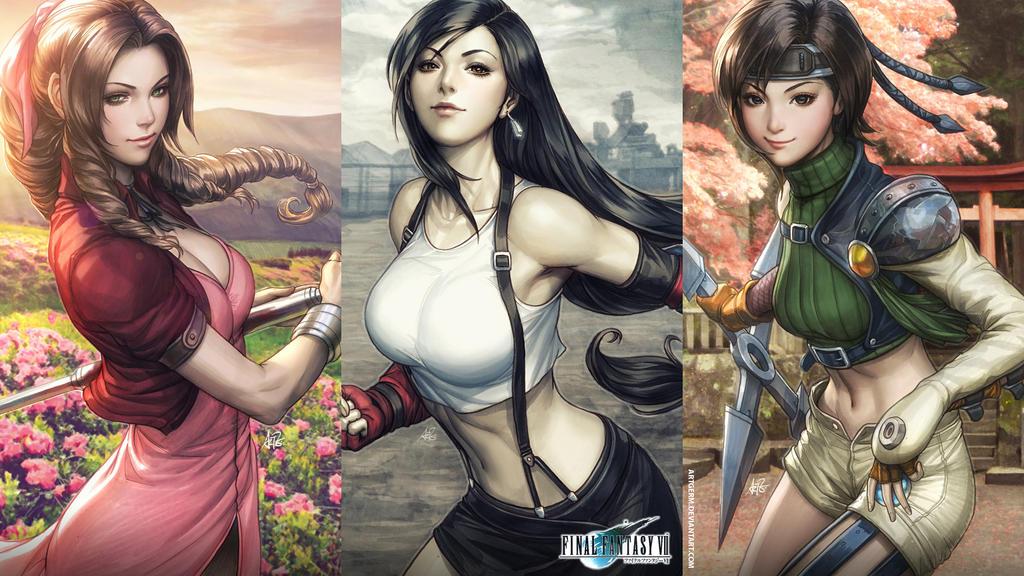 Tifa Lockhart Final Fantasy Artwork Hd Fantasy Girls 4k: FF7 Wallpaper By Artgerm On DeviantArt