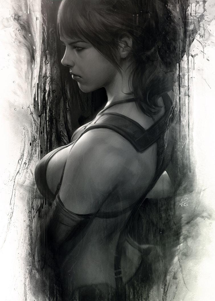 Quiet Moment by Artgerm