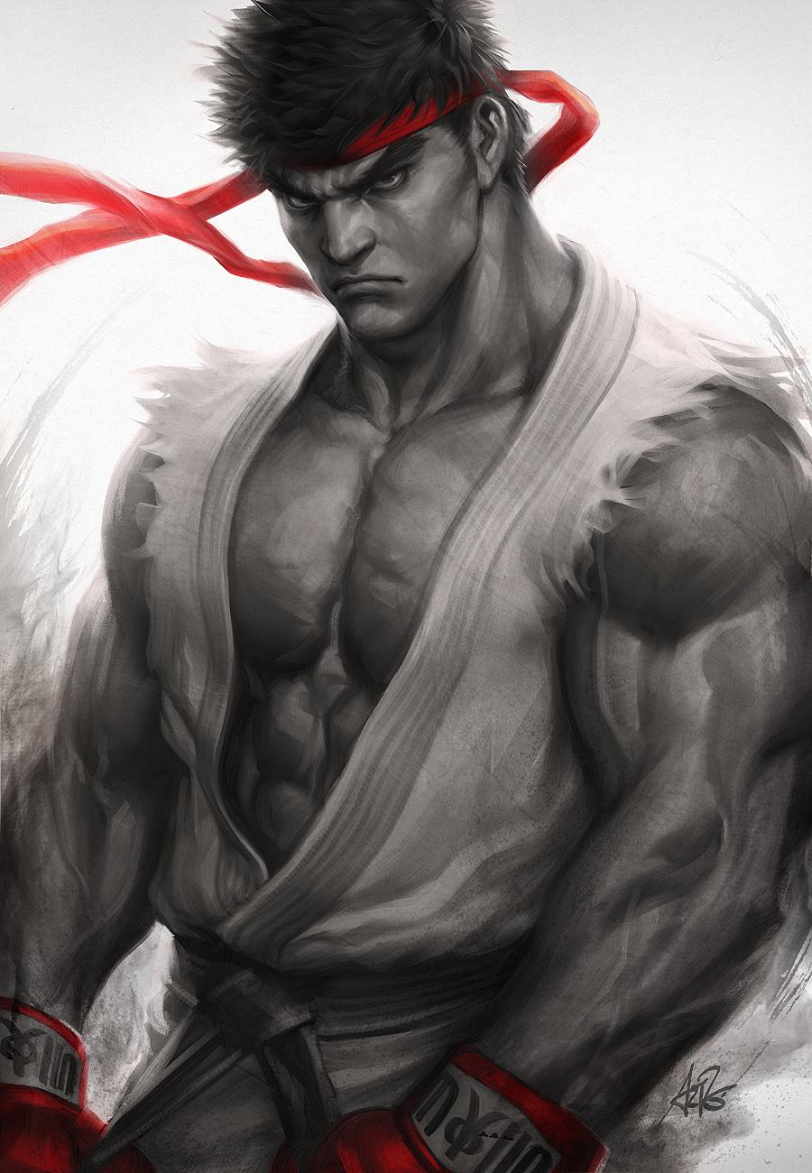 Ryu Fury By Artgerm On Deviantart