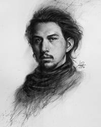 Kylo Ren Portrait by Artgerm