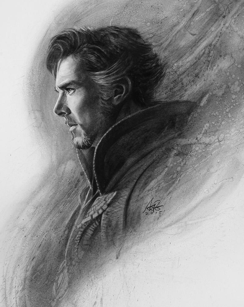 Dr Strange Portrait by Artgerm