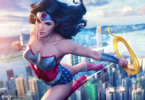 Wonder Woman HK by Artgerm