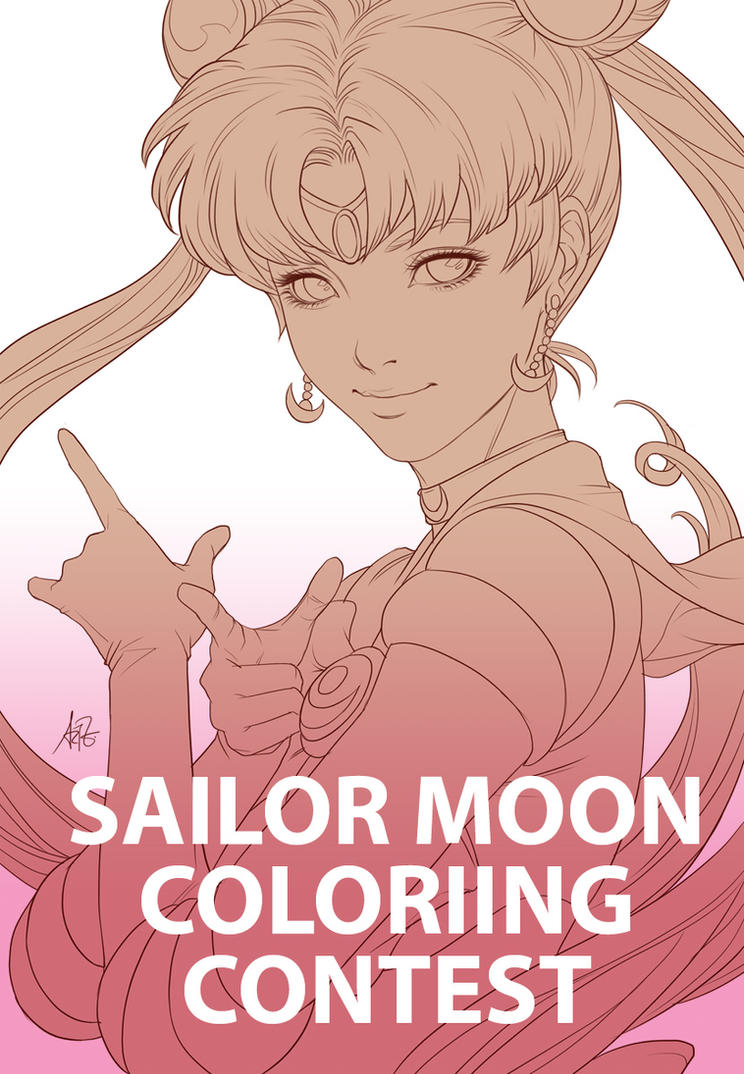 Sailor Moon Colouring Contest by Artgerm on DeviantArt