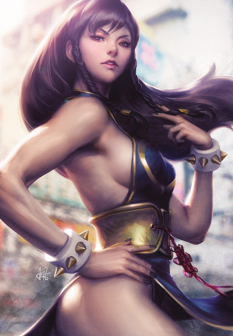 Chunli SFV Battle Costume by Artgerm