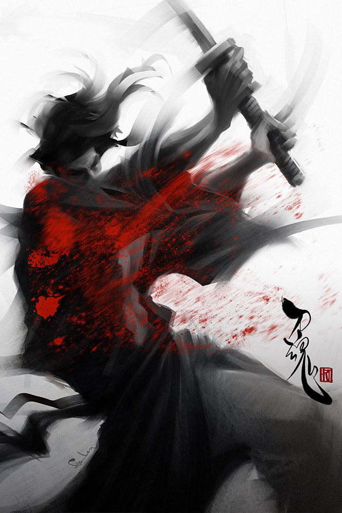 Samurai Spirit 5 - Slasher by Artgerm