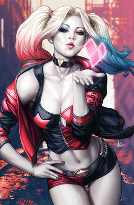 Harley Rebirth Issue 1 Variant Cover