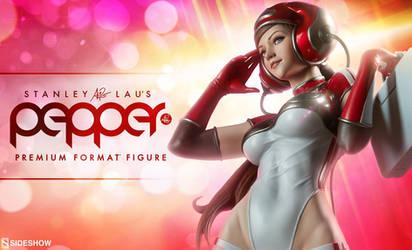 Pepper Statue Teaser by Artgerm