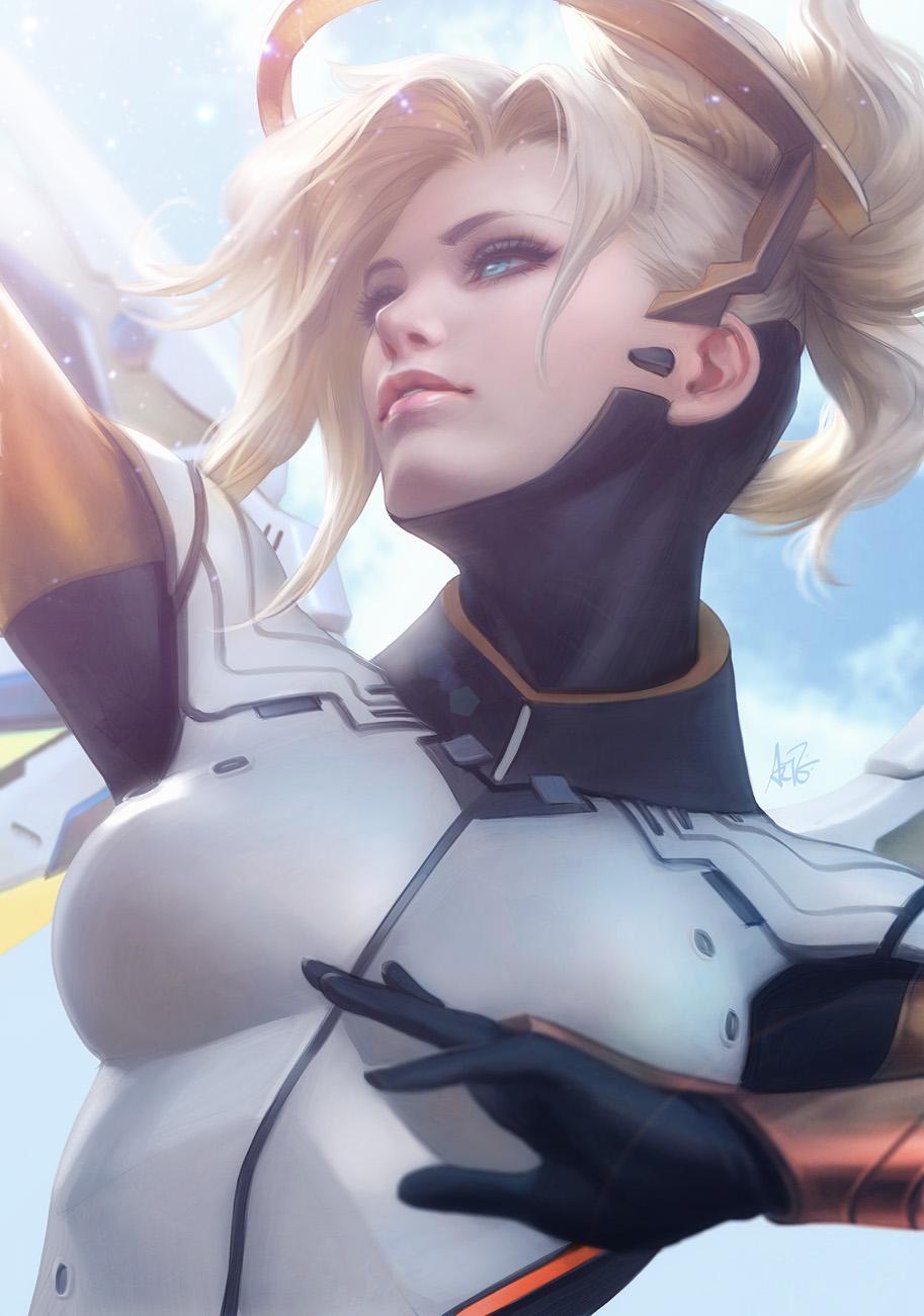[Fan Arts] Artgerm (Stanley Lau) Mercy_final_lr2_by_artgerm-dacepmi