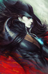 Vampire Hunter D Comic Cover by Artgerm