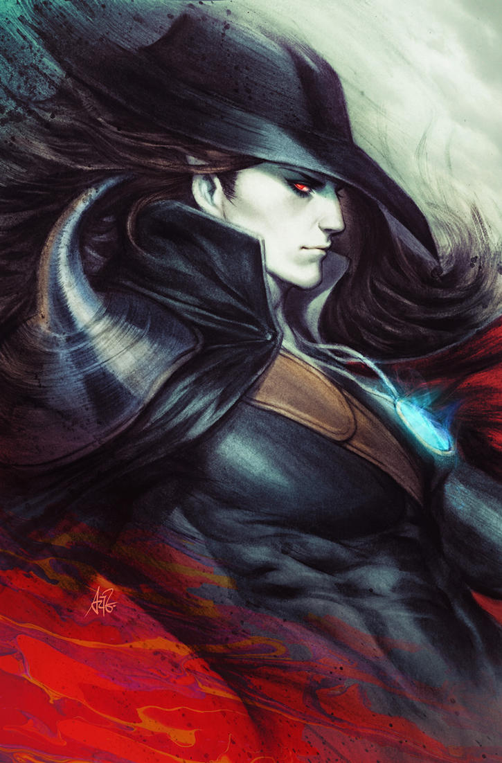 Vampire Hunter D Comic Cover by Artgerm on DeviantArt