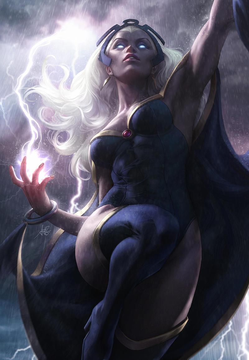 Storm Arise by Artgerm