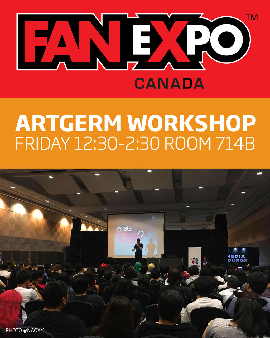 FanExpo workshop