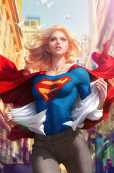 Supergirl 15 by Artgerm