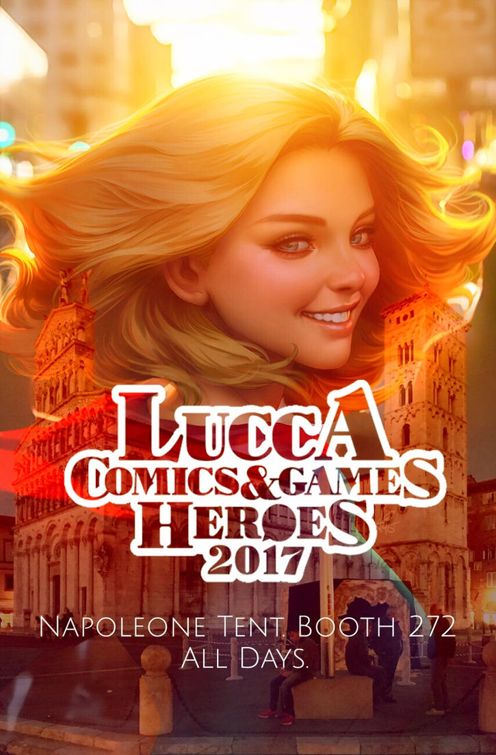 Artgerm at Lucca by Artgerm