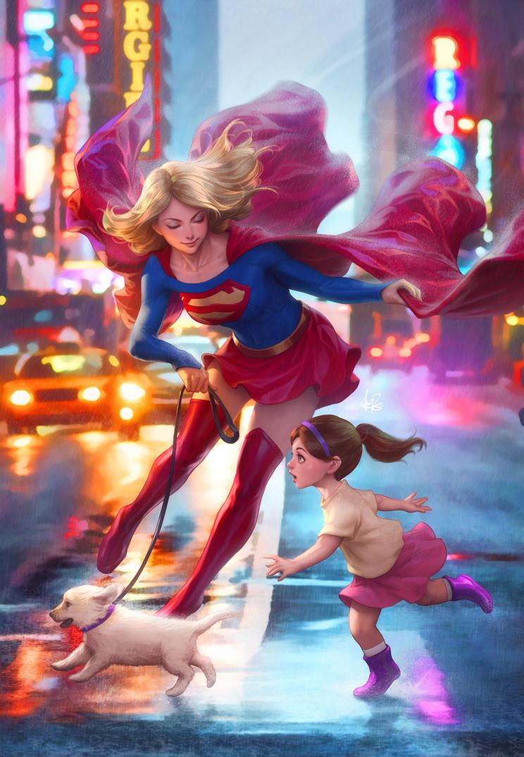 Supergirl 17 by Artgerm