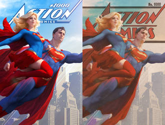 Action Comics 1000 by Artgerm