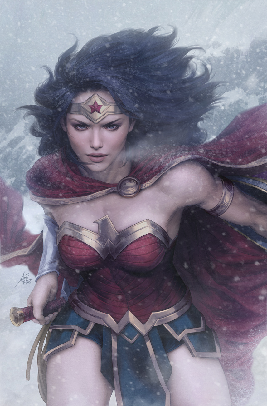 Wonder in the Snow by Artgerm